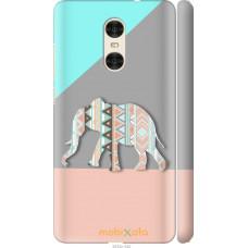 Чехол на Xiaomi Redmi Pro Узорчатый слон