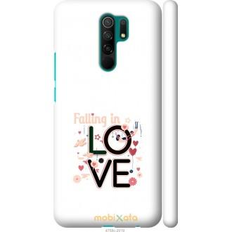 Чехол на Xiaomi Redmi 9 falling in love