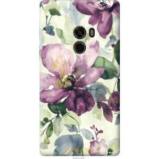 Чехол на Xiaomi Mi MiX Акварель цветы