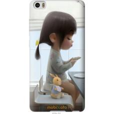 Чехол на Xiaomi Mi Note Милая девочка с зайчиком