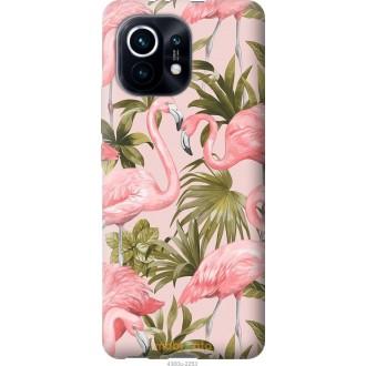 Чехол на Xiaomi Mi 11 фламинго 2