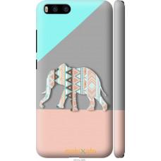 Чехол на Xiaomi Mi6 Узорчатый слон