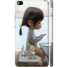 Чехол на Xiaomi Mi Max 2 Милая девочка с зайчиком