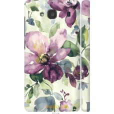 Чехол на Xiaomi Redmi 2 Акварель цветы