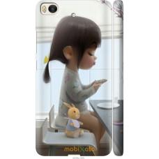 Чехол на Xiaomi Mi 5s Милая девочка с зайчиком
