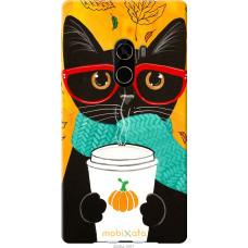 Чехол на Xiaomi Mi MiX 2 Осенний кот