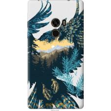 Чехол на Xiaomi Mi MiX Арт-орел на фоне природы
