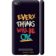 Чехол на Xiaomi RedMi 4A Everything will be Ok