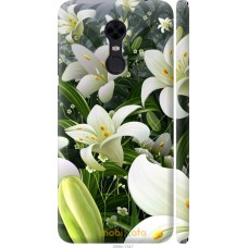 Чехол на Xiaomi Redmi 5 Plus Лилии белые