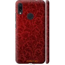 Чехол на Xiaomi Redmi Note 7 Чехол цвета бордо