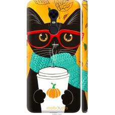 Чехол на Xiaomi Redmi 5 Plus Осенний кот