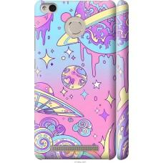 Чехол на Xiaomi Redmi 3s 'Розовый космос