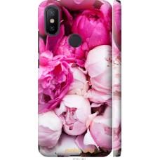 Чехол на Xiaomi Mi A2 Розовые цветы