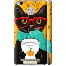 Чехол на Xiaomi Redmi 3 Pro Осенний кот