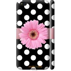 Чехол на Xiaomi Mi5c Цветочек горошек v2