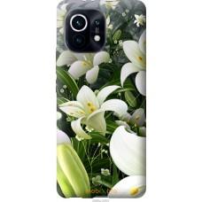 Чехол на Xiaomi Mi 11 Белые лилии