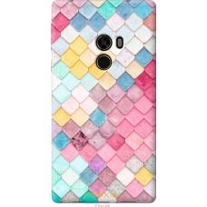 Чехол на Xiaomi Mi MiX Красочная черепица