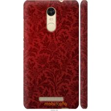 Чехол на Xiaomi Redmi Note 3 Чехол цвета бордо