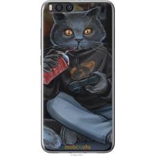 Чехол на Xiaomi Mi Note 3 gamer cat
