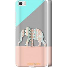 Чехол на Xiaomi Mi5 Узорчатый слон