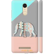 Чехол на Xiaomi Redmi Note 3 Узорчатый слон