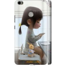 Чехол на Xiaomi Mi Max Милая девочка с зайчиком