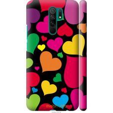 Чехол на Xiaomi Redmi 9 Сердечка 4