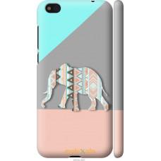 Чехол на Xiaomi Mi5c Узорчатый слон