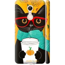 Чехол на Xiaomi Redmi 5 Осенний кот