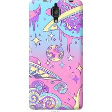 Чехол на Xiaomi Mi4 'Розовый космос