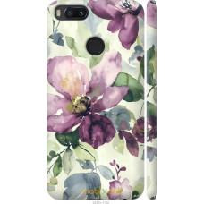 Чехол на Xiaomi Mi A1 Акварель цветы