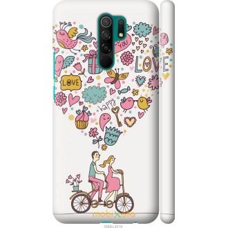 Чехол на Xiaomi Redmi 9 Любовь v3