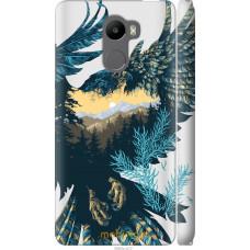 Чехол на Xiaomi Redmi 4 Арт-орел на фоне природы