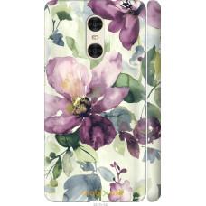 Чехол на Xiaomi Redmi Pro Акварель цветы