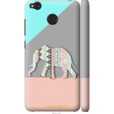 Чехол на Xiaomi Redmi 4X Узорчатый слон