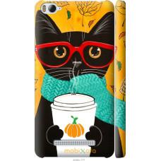 Чехол на Xiaomi Mi4c Осенний кот