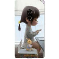 Чехол на Xiaomi Mi MiX 2 Милая девочка с зайчиком