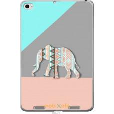 Чехол на Xiaomi Mi Pad 2 Узорчатый слон