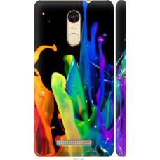 Чехол на Xiaomi Redmi Note 3 pro брызги краски