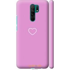 Чехол на Xiaomi Redmi 9 Сердце 2