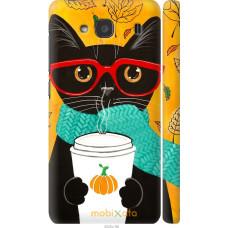 Чехол на Xiaomi Redmi 2 Осенний кот