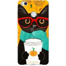 Чехол на Xiaomi Mi4s Осенний кот