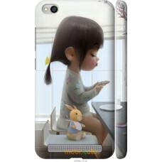 Чехол на Xiaomi Redmi 5A Милая девочка с зайчиком