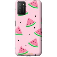 Чехол на Xiaomi Poco M3 Розовый арбуз
