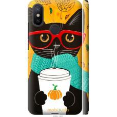 Чехол на Xiaomi Mi A2 Осенний кот