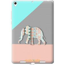 Чехол на Xiaomi Mi Pad Узорчатый слон