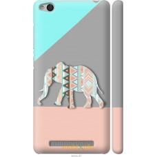 Чехол на Xiaomi Redmi 3 Узорчатый слон