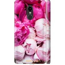 Чехол на Xiaomi Redmi Note 4X Розовые цветы