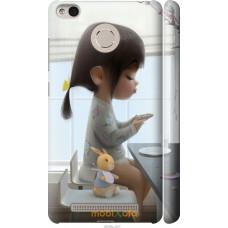Чехол на Xiaomi Redmi 3 Pro Милая девочка с зайчиком