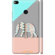 Чехол на Xiaomi Mi Max 2 Узорчатый слон